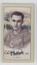 2009 Upper Deck Champ's Mini Blue Back #234 Red Kelly Detroit Wings Hockey Card