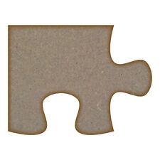 Puzzle Piece mdf Coupe Laser Craft Blanks dans différentes tailles