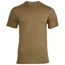Mil-Tec Homme US Armée T-Shirt Militaire 100% Coton Coyote Beige S – 3XL