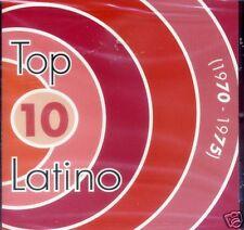 Top 10 Latino 1970-1975  BRAND NEW SEALED  CD