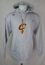 Cleveland Cavaliers Men's Pullover Hooded Sweatshirt NBA adidas Gray A16