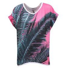 0281R maxi felpa donna GAELLE manica corta sweatshirt short sleeve woman