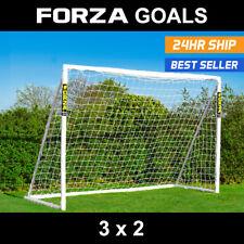 FORZA Football Goal | 3m x 2m | Futsal | PVC Goal | Regulation Size Futsal Goal