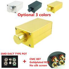 SMD Dact type 21 Stepped attenuator Passive Pre-amplifier preamp amp HIFI audio