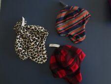 NEW Boy Girl Toddler Infant 18-24 month Fleece Hunter Stripe Leopard Trapper Hat