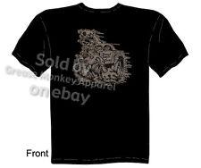1941 Willys T-shirt, Kustom Kulture Clothing 41 Hotrod Tee, Sz M L XL 2XL 3XL