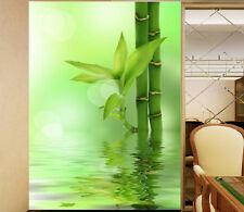 3D Germoglio Bambù Parete Murale FotoCarta da parati immagine sfondo muro stampa
