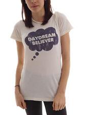 Local Celebrity T-Shirt Oberteil Daydream Believer beige Druck kurzarm