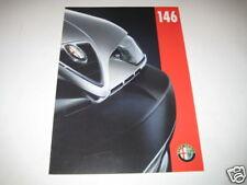 Prospekt Alfa Romeo 146 von 1996