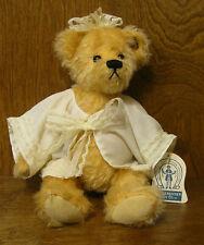 "Knickerbocker #118114 BABY EMMA, 10""Jjointed Mohair Bear by Karen Rundlett NEW"