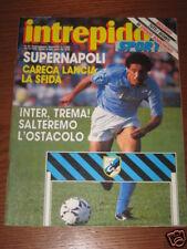 INTREPIDO SPORT 1988/50 BORGONOVO GUCCINI CARECA NAPOLI