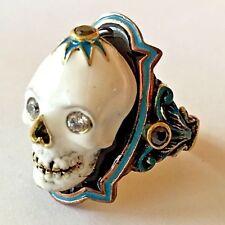 Memento Mori Skull Steampunk Gothic Vintage Victorian 20s,30s,40s,50s