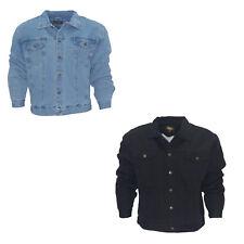 Denim Cowboy Jacket With Fur(Chamarra vaquera de mezclilla sin borrego en cuello