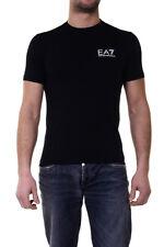 T-shirt Maglietta Emporio Armani EA7 Sweatshirt % Uomo Nero 6XPT52PJ03Z-1200
