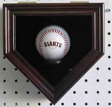 Home Shape Shadow Box for a autographed Baseball, Locks, UV Protection : B14
