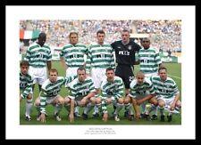 Celtic FC 2003 UEFA Cup Final Team Line up Photo Memorabilia