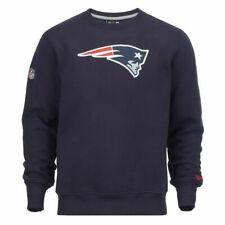 New Era-NFL New England Patriots équipe Logo Sweat-Shirt-Navy