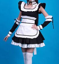 Lolita Maid Costume Women's Sizes Black White Dress NEW