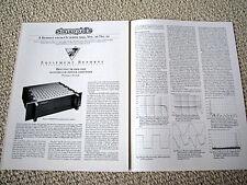 Bryston 7B-NRB power amplifier review reprint