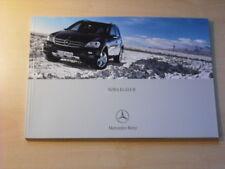 25377) Mercedes M-Klasse Polen Prospekt 2005