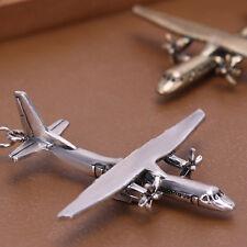 "AIRCRAFT BOMBERS Metal Keyrings 2 3/8"" Key Chains Choice of Finish"