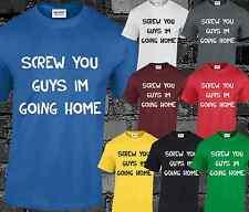 Screw You Guys Im Going Home Mens T Shirt Funny South Park Quote Cartman Joke