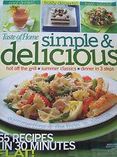 June 2008 Taste of Home Simple & Delicious Recipe Magazine Dessert Salad Grill