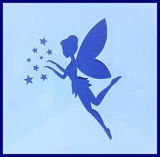 Flexible Stencil *FLYING FAIRY* Small or Medium Card Making Crafts Stars