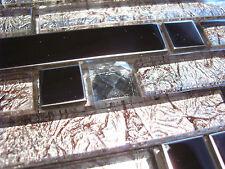 Glasmosaik Edelstahlmosaik Mosaik Metall Metalleffekt Fliese silber DIAMANT