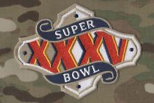AFC NFL CHAMPIONSHIP SUPER BOWL XXXV SUPERBOWL SB 35 RAVENS GIANTS JERSEY PATCH