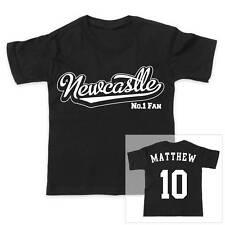 Newcastle Football personnalisé pour garçons / T-shirt fille
