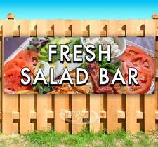 FRESH SALAD BAR Advertising Vinyl Banner Flag Sign Many Sizes