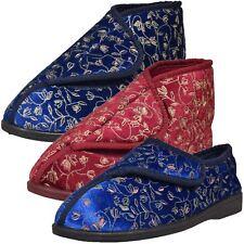 Damen Hausschuhe Diabetiker Orthopédique Weite Passform Stiefel Schuhe