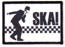 "SKA""Aufnäher""Oi!/SKIN/WAY OF LIFE/PATCH/REGGAE/BOOTS AND BRACES/PUNK/DANCE CRAZE"