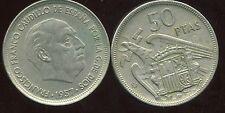 ESPAGNE  50 pesetas 1957 ( 58 )   ( bis )
