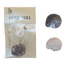 Ceramic Cord Pull Hedgehog