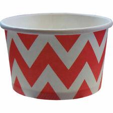 Chevron Treat Tubs/Ice Cream Cups (8 supplied)