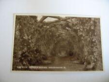 POSTCARD Sandringham Rose Pergola garden