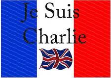 Je suis CHARLIE.. montrez votre soutien UK de solidarité avec le poster Français