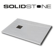 Piatto doccia in pietra SolidStone alto 2,8 cm - Ardesia Bianco