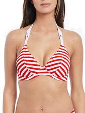 Freya Relájese Top De Bikini Escotado 4047 Con Aros Sin Acolchado Espalda -ROJO