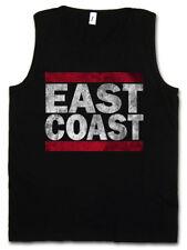 EAST COAST HERREN TANK TOP Run Fun DMC USA United States New City Band Side West