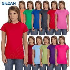 Gildan Women's Softstyle Crewneck 4.5 oz. Junior Fit S-XL T-Shirt R-G640L