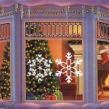 Navidad Copo De Nieve Grande Arte De Vinilo De Adhesivo Para Ventana O Pared