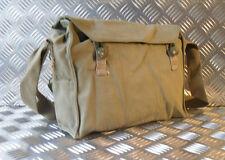 Autentico Esercito Vintage Gas BAG. Side / Spalla / Messenger Bag-NUOVO