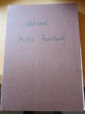 Audio handbook Technical editor and contributing author: Dennis Bohn