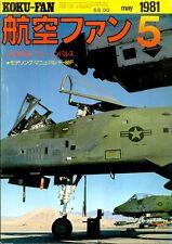 KOKU FAN 5/81 NORTH AMERICAN AVIATION F-86F SABRE JET U