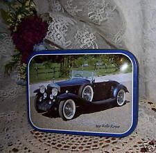 ROLLS ROYCE 1931 CLASSIC CAR TIN BOX
