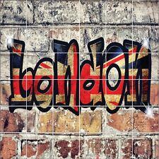 Stickers carrelage mural Graffiti London 1934