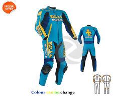 NEUF une pièce MOTO RACING COMBINAISON CUIR rizla style personnalisé votre Suit